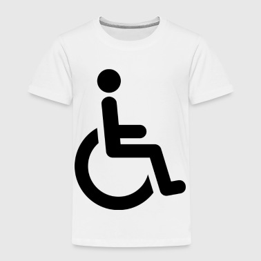 Wheelchair - Toddler Premium T-Shirt
