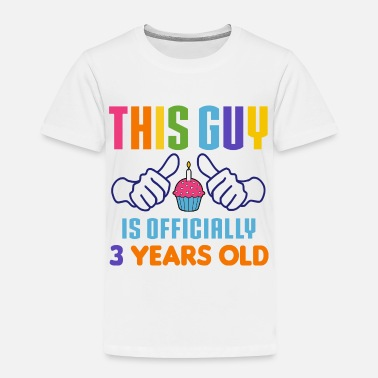Old Officially 3 Years Old - Toddler Premium T-Shirt