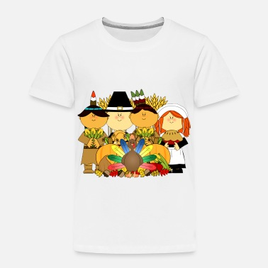 Kids Thanksgiving Thanksgiving Kids - Toddler Premium T-Shirt