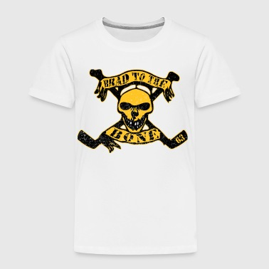 Brad to the Bone Boston Hockey - Toddler Premium T-Shirt