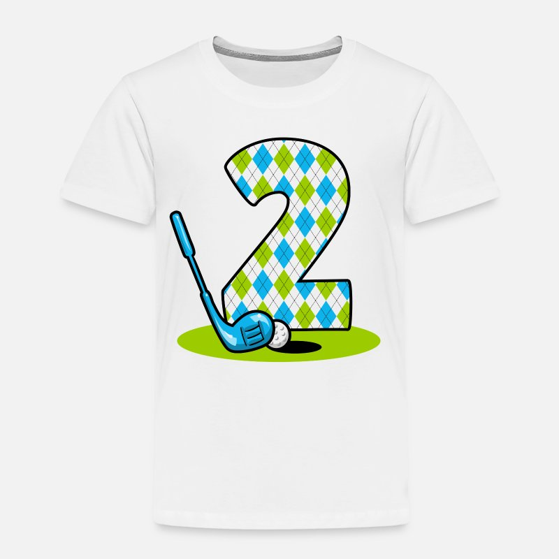Argyle Golf 2nd Birthday By PinkInkArt