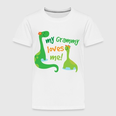 My Grammy Loves Me - Toddler Premium T-Shirt
