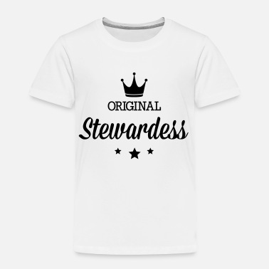 Stewardess Original stewardess - Toddler Premium T-Shirt