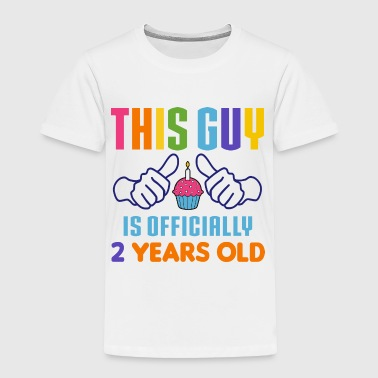 Officially 2 Years Old - Toddler Premium T-Shirt