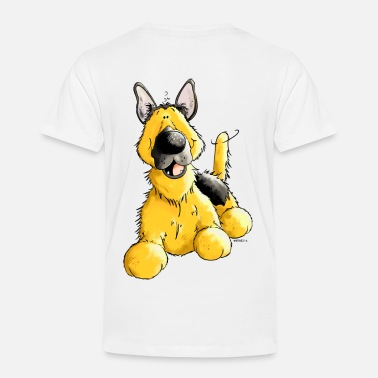 German Shepherd Toddler Happy German Shepherd Dog - Dogs - Toddler Premium T-Shirt