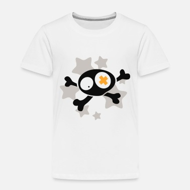 Asterisk Skull with asterisks - Toddler Premium T-Shirt