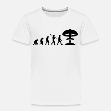 Nuclear Evolution of Nuclear - Toddler Premium T-Shirt