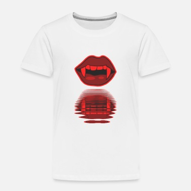 Mouth Sexy Halloween vampire lips blood kiss - Toddler Premium T-Shirt