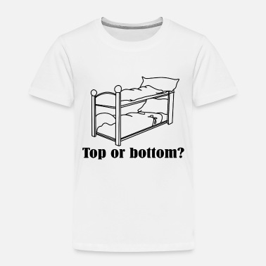 Nurse Top or bottom - Toddler Premium T-Shirt