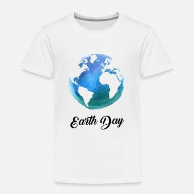 I Love Earth Science Earth day - Toddler Premium T-Shirt
