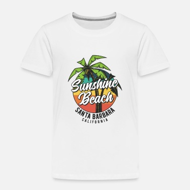 California Sunshine Beach Surfing California - Toddler Premium T-Shirt