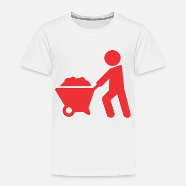 Sand carrying sand - Toddler Premium T-Shirt