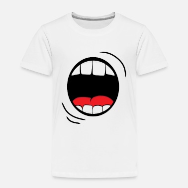 Big Daddy Monster Mouth - Toddler Premium T-Shirt