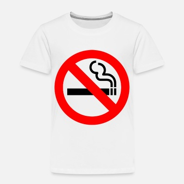 Smoking No Smoking - Toddler Premium T-Shirt