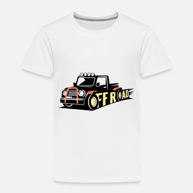 Official Person Truck off road - Toddler Premium T-Shirt
