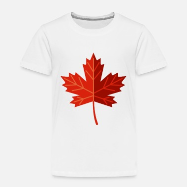 Leaf Canadian Maple Leaf - Toddler Premium T-Shirt
