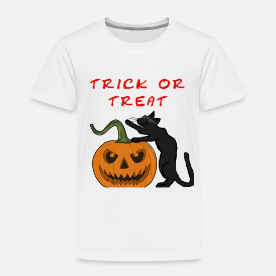 Gift Idea Baby Clothing - Trick or treat - Toddler Premium T-Shirt white