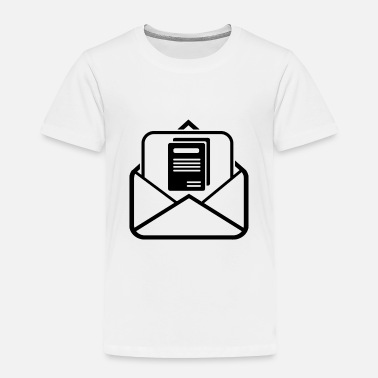 Sterren Document in Mail - Toddler Premium T-Shirt