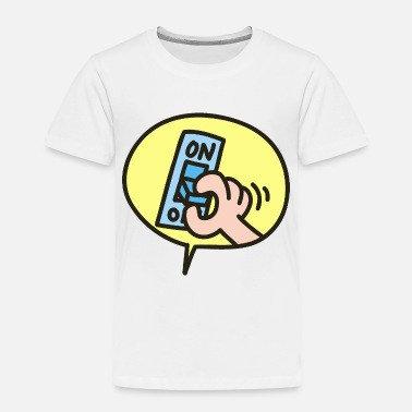 Off switch - Toddler Premium T-Shirt