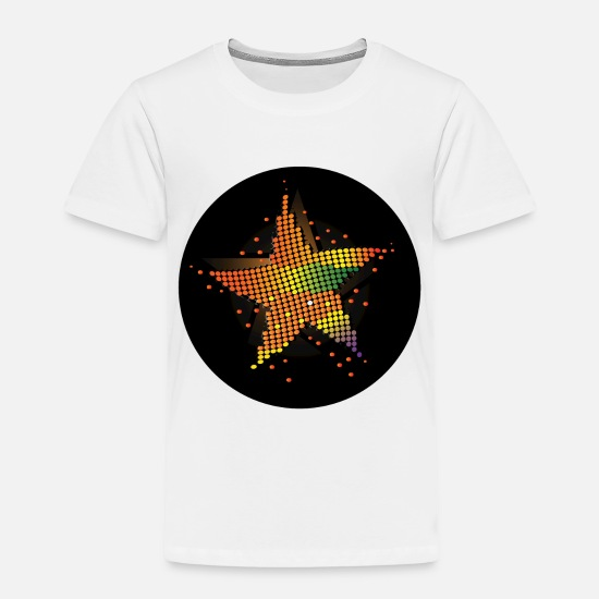 Star Baby Clothing - Party Icon - Toddler Premium T-Shirt white