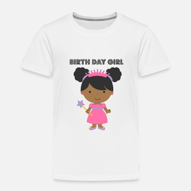 African American Girl african american birth day girl - Toddler Premium T-Shirt