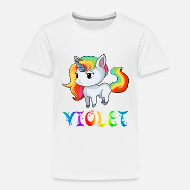 Violet Violet Unicorn - Toddler Premium T-Shirt