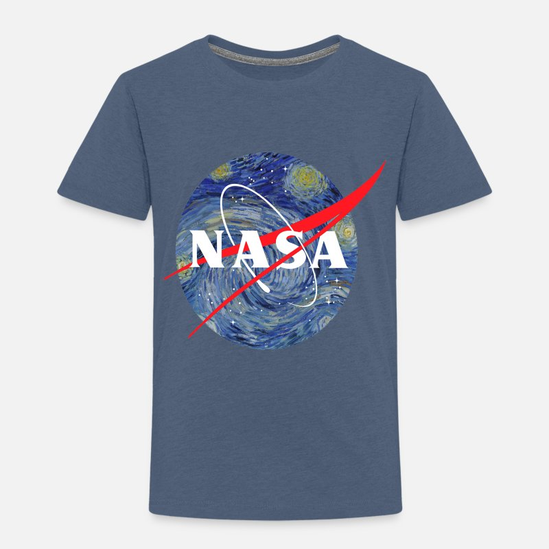 5ab42d06 NASA starry night Toddler Premium T-Shirt | Spreadshirt