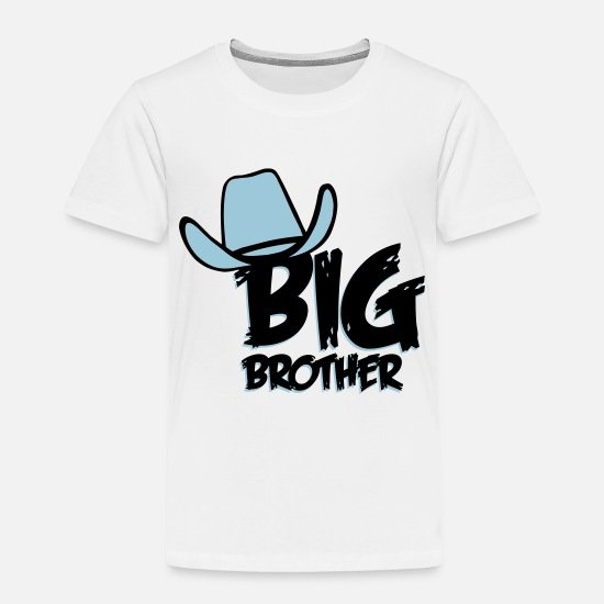 Big Brother Baby Clothing - Big Brother - Toddler Premium T-Shirt white