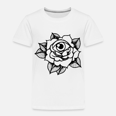 All Seeing Eye rose all seeing eye - Toddler Premium T-Shirt