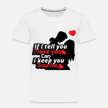 Marry Love relationship Valentines day gift Couple - Toddler Premium T-Shirt