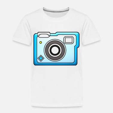 Selfie camera vintage polaroid movie camera photography - Toddler Premium T-Shirt
