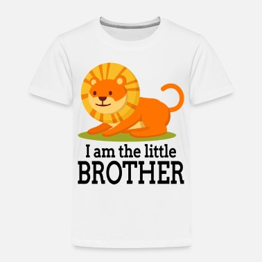 Little Brother I am the little brother - Toddler Premium T-Shirt