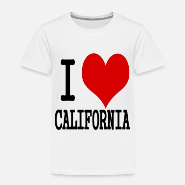 California I love California - Toddler Premium T-Shirt