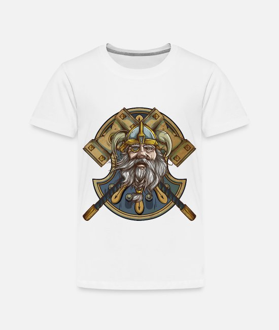 Thor T-Shirts - Viking - Toddler Premium T-Shirt white