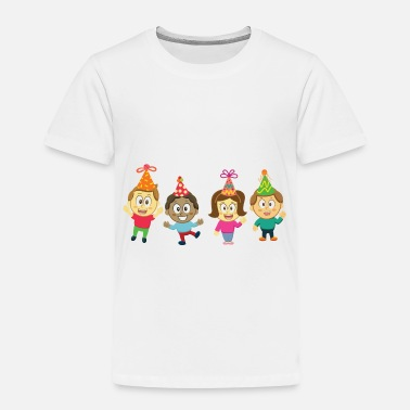 Children Children and Party - Toddler Premium T-Shirt