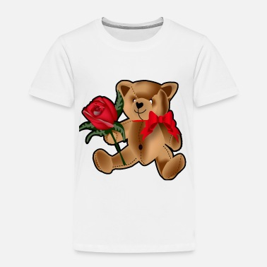 Back In The Day Teddy Bear - Toddler Premium T-Shirt