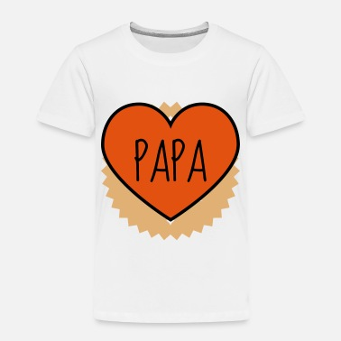 Geek Dad Daddy Papa Vati Vater Father's day Baby - Toddler Premium T-Shirt