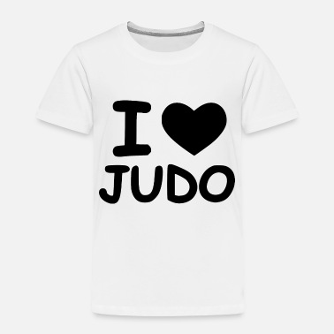 Punch time for judo - Toddler Premium T-Shirt