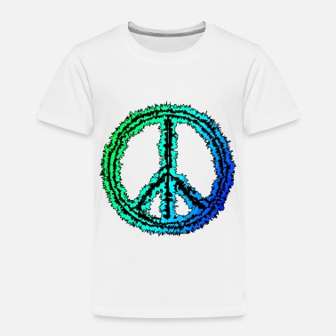 Peace Sign peace sign - Toddler Premium T-Shirt