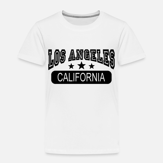 Los Angeles Baby Clothing - los angeles california - Toddler Premium T-Shirt white