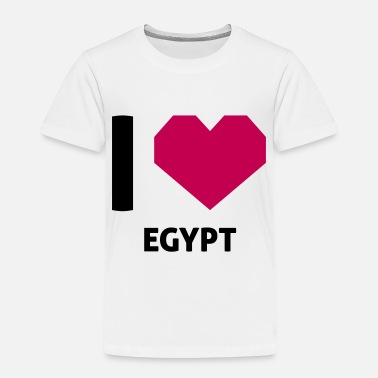 Egypt I Love Egypt - Toddler Premium T-Shirt