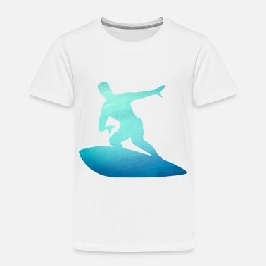 Hawaii Surfer Gift - Surf the Waves - Surfing Nation - Toddler Premium T-Shirt