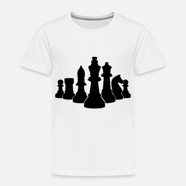 Chess king of chess - Toddler Premium T-Shirt