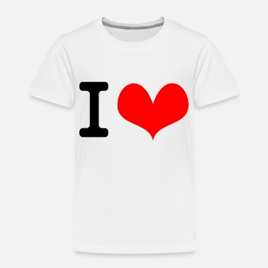 Name I Love what - Toddler Premium T-Shirt