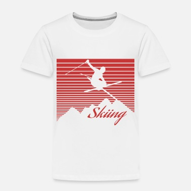 Alps Alps Ski - Toddler Premium T-Shirt