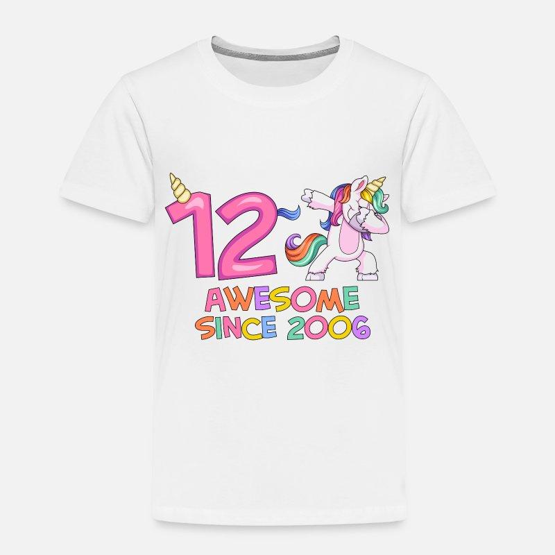 Unicorn Birthday T Shirt Baby Clothing