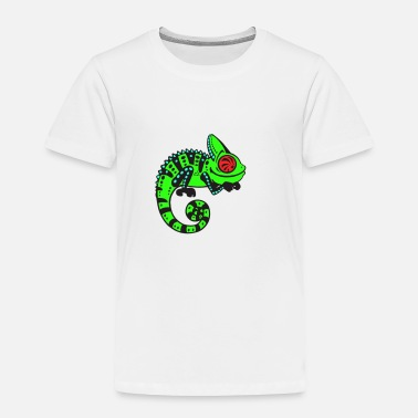 Neon Neon Lizard - Toddler Premium T-Shirt