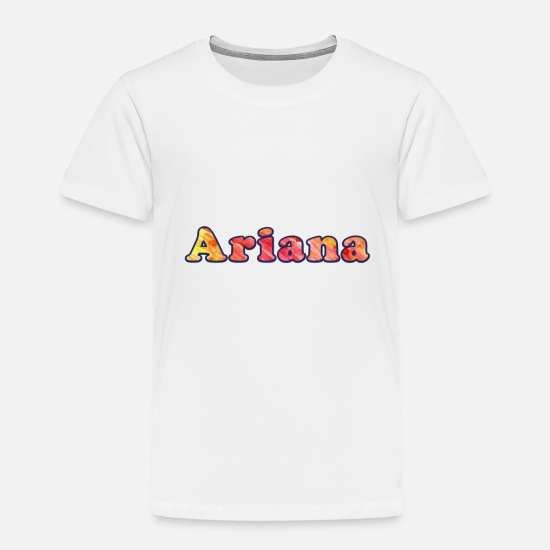 Ariana Baby Clothing - Ariana - Toddler Premium T-Shirt white