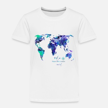 World Map World map - Toddler Premium T-Shirt