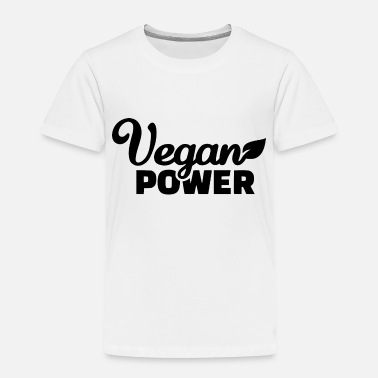 Green Peace VEGAN POWER - Toddler Premium T-Shirt